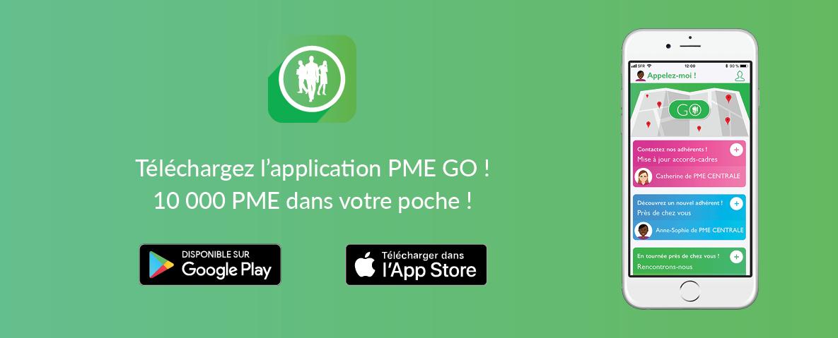 Télécharger l'application PME GO !