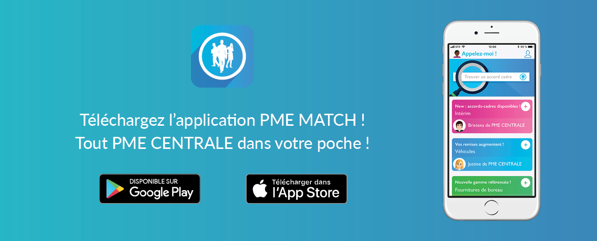 Télécharger l'application PME MATCH