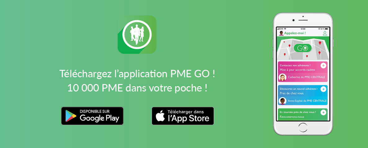 Télécharger l'application PME GO !